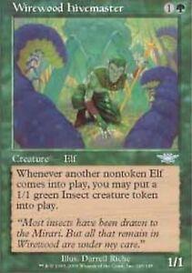 MTG 4x Wirewood Channeler Legions uncommon x4 magic the Gathering playset
