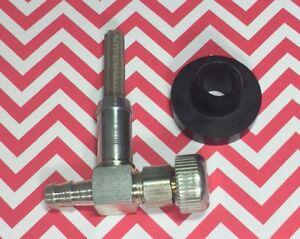 Fuel gas tank Grommet /& Shut off valve for Generators Craftsman Coleman Generac