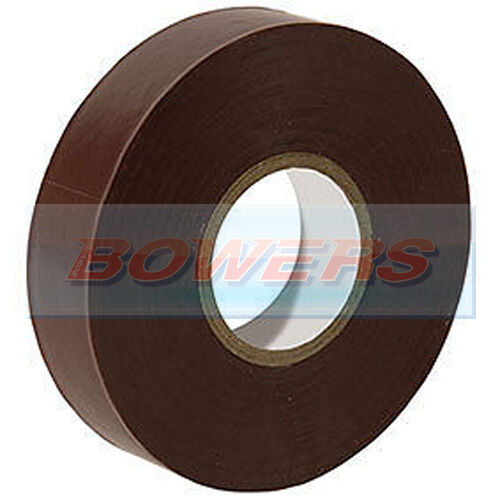 BROWN INSULATION TAPE 19MM WIDE X 20M LONG X 0.15MM THICKNESS