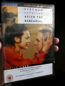 AFTER THE REHEARSAL  - BERGMAN COLLECTION DVD BRAND NEW SEALED - Swedish Cinema