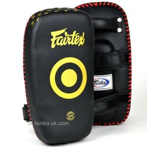 Fairtex Léger Tampons De Pied Muay Thai Strike Protections Kickboxing Grand