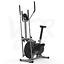 miniatura 5 - Deluxe 2-in - 1 Cross Trainer & Cyclette Allenamento di cardio fitness con sedile