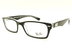 c120d8e478 Image is loading Ray-Ban-RB-5206-2034-Black-Transparent-Frame-