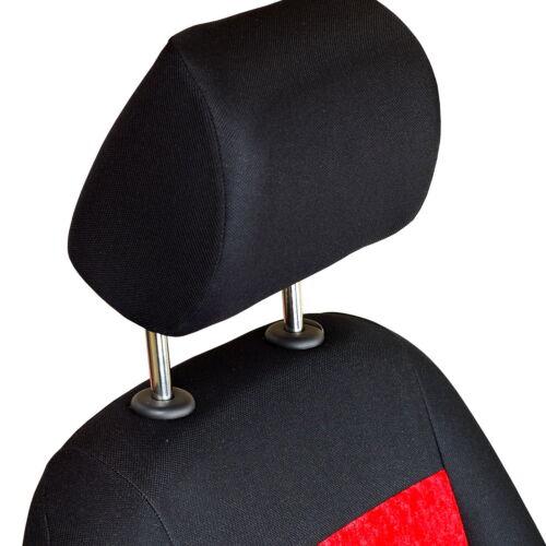 Roter Glänzender Velours Sitzbezüge  OPEL CALIBRA Autositzbezug Komplett