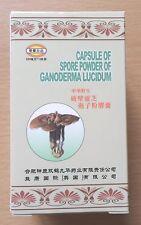 2pk Ganoderma Lucidum 144 Capsules Spore Powder Reishi Mushroom Ling Zhi LingZhi