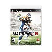 Madden NFL 15 NEW (Sony PlayStation 3, 2014) Football Sports Video Game Sealed