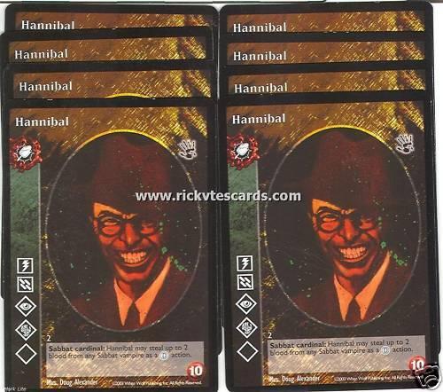 Hannibal x8 Malkavian antitribu BH VTES Jyhad