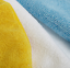 """thumbnail 2 - Amazon Basics Blue, White, and Yellow Microfiber Cleaning Cloth 12""""x16"""" - Pack o"""