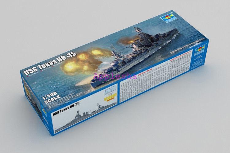 Trumpeter 06712 1 700 USS Texas BB-35