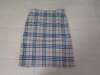 Burberry London BLUE LABEL Nova Check Skirts Size 38 (e-244)