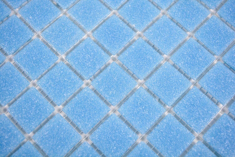 Mosaïque carreau verre Blau claire sol mirroir tuiles 200-A13-N_f   10 plaques