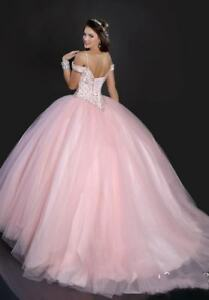 0f9ed0e8c78 Hot Pink Ball Gown Sweet 16 Quinceanera Dresses Prom Party Pageant ...