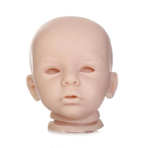 "20/"" Unpainted Vinyl Doll Kits DIY Reborn Baby Mold Head+Limbs+ Body+Eyes"