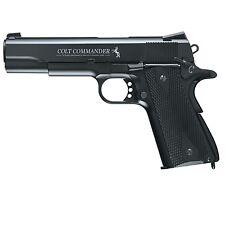 Umarex Colt Commander .177 Air Gun Steel BB Black 2254028