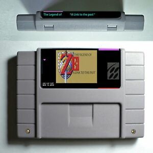Details About Zelda A Link To The Past Snes Super Nintendo Ntsc Video Game Usa Version 16 Bit