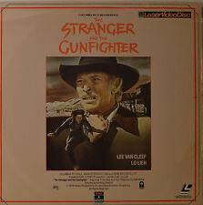 "THE STRANGER AND THE GUNFIGHTER - LEE VAN CLEEF - LASERDISC  12""  LD (O143)"