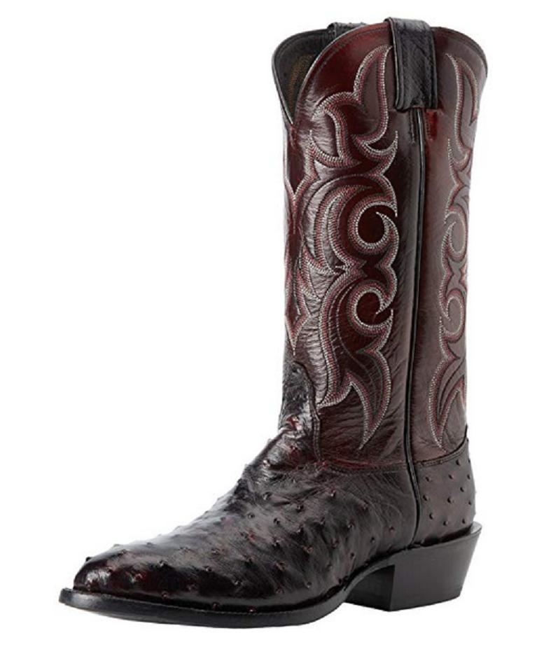 Nocona Boots Men's MD8506 Boot  Black Cherry Size 12 D