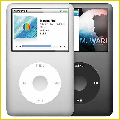 Apple iPod Classic 5th 6th 30GB, 60GB, 80GB, 120GB, 160GB or 7th Generation