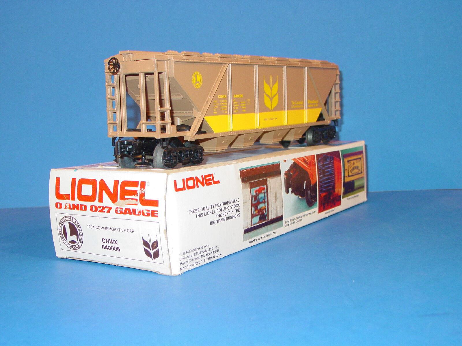 LIONEL - COMMEMORATIVE  HOPPER  CAR  ( LCAC )