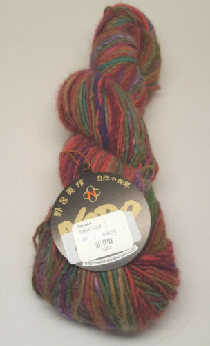 Hand Dyed Shiraito by the Skein 8A Noro