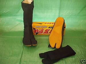 Japanese-Ninja-Tabi-Boots-with-socks-24-28cm-UK-6-10
