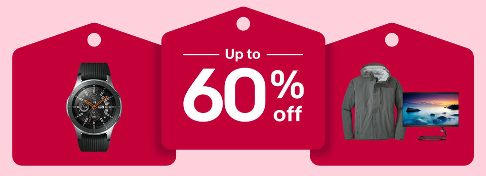 Shop now - Save big with up to 60% off