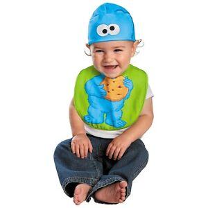 image is loading cookie monster bib amp hat costume sesame street