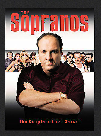 The Sopranos - The Complete First Season DVD, 2000, 4-Disc Set, DVD Collection  - $0.99