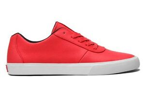 Taglia Fashion Chili Satin 8 Rugged Sneakers Tuf Cuttler Low Supra Red x7EzI