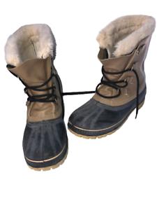 Sorel Polar Men's Boots Insulated Waterproof Snow Boots Sz 11 Steel Shank