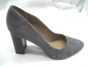 NEW-Franco-Sarto-size-10M-Evie-gray-suede-pumps-womens-ladies-shoes-heels-pumps