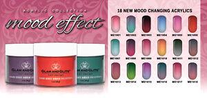 Effect Of Colors On Mood glam&glits - mood effect acrylic powder mood change color | ebay