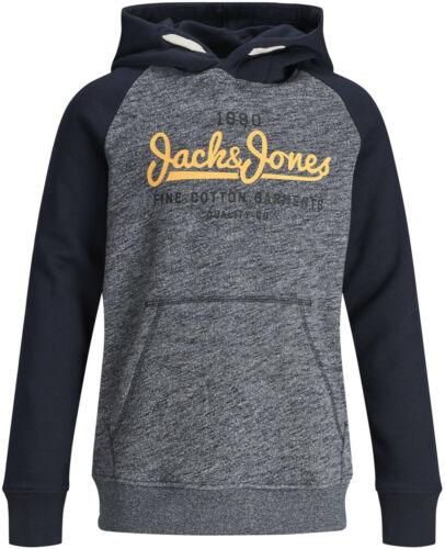 Jack /& Jones Jungen Hoodie Kapuzen-Sweatshirt Gr.128-176 JJECONTRAST SWEAT HOOD