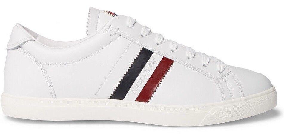 MONCLER  La Monaco Low-Top Leather Trainers Sneakers
