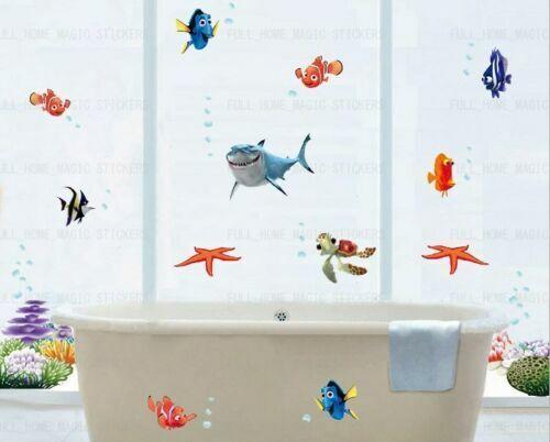 Trouver Nemo Wall stickers chambre Nursery Decor Art Mural Autocollant Vendeur Britannique