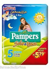 PAMPERS Sole Luna 5^ Misura 11-25Kg - 102 Pannolini Offerta