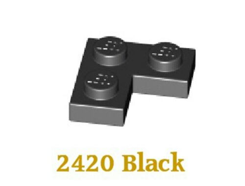 LEGO 2420  2 x 2 corner plate in Black x 36 FREE UK P+P