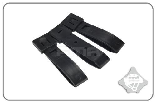 TB1032-BK FMA 3 Inch Strap Buckle Accessory 3pcs For A Set