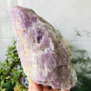 1-9lb-Natural-Kunzite-Gemstone-Quartz-Crystal-Rough-Mineral-Specimens-Healing