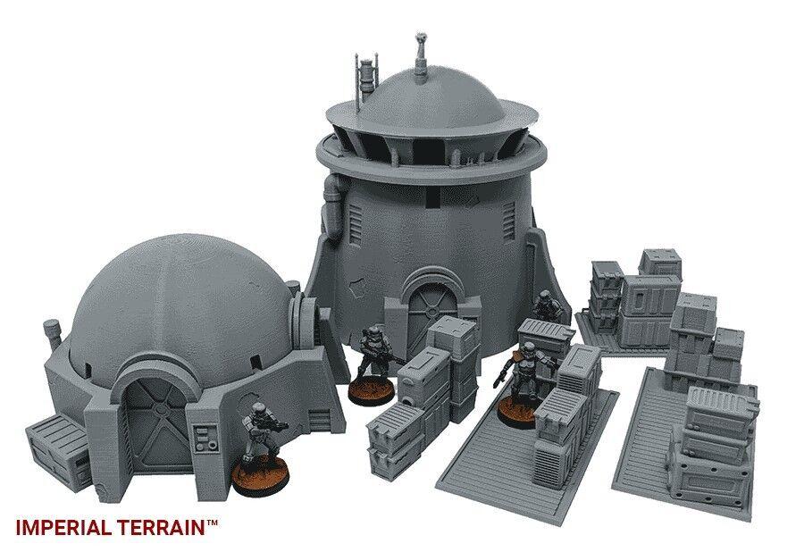 Star - wars - legion 40k unendlichkeit kompatibel terrain - wüste starter - set