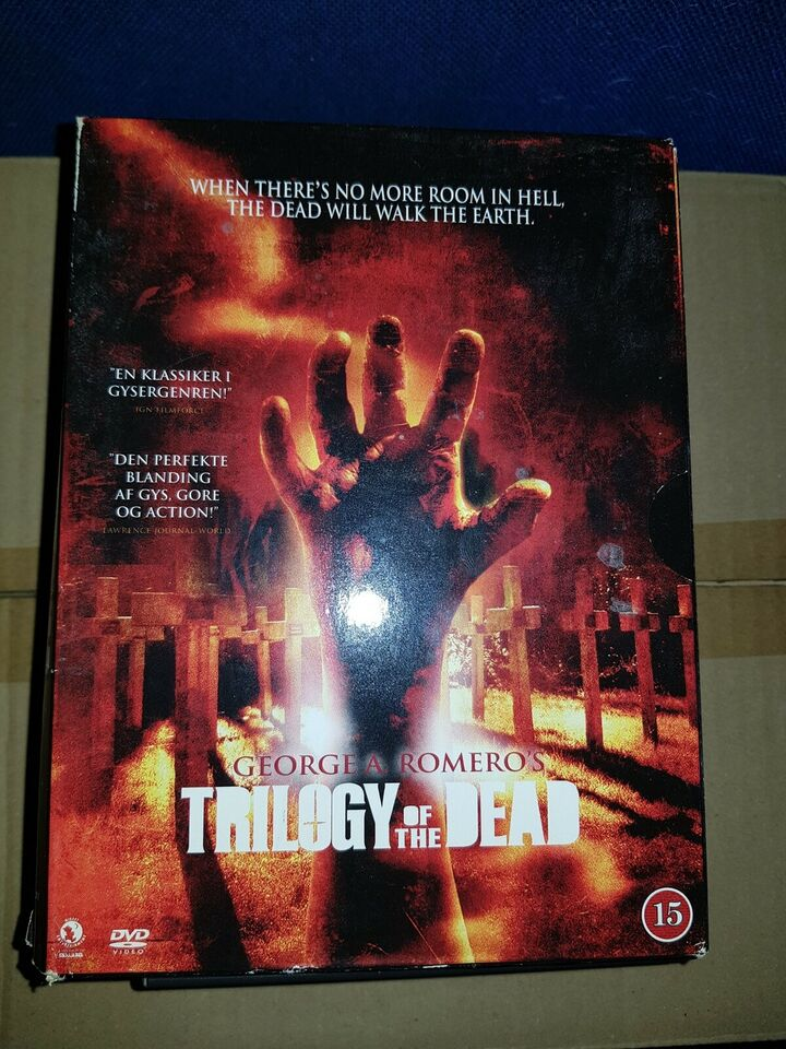trilogy of the dead, DVD, gyser