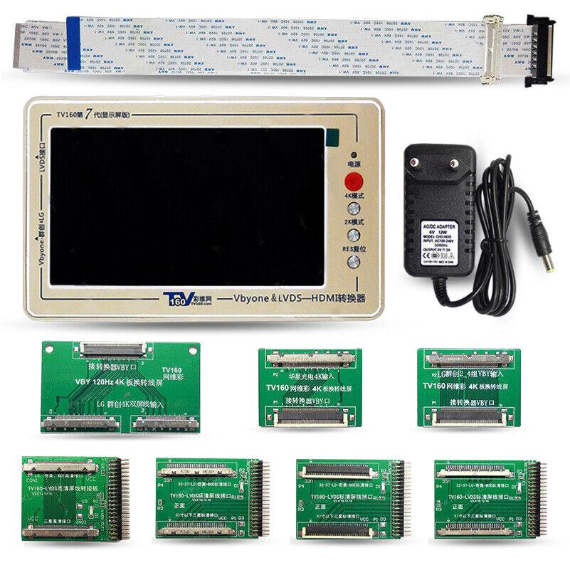 TV160 LVDS LED LCD TV Motherboard Tester (7th Gen) 2