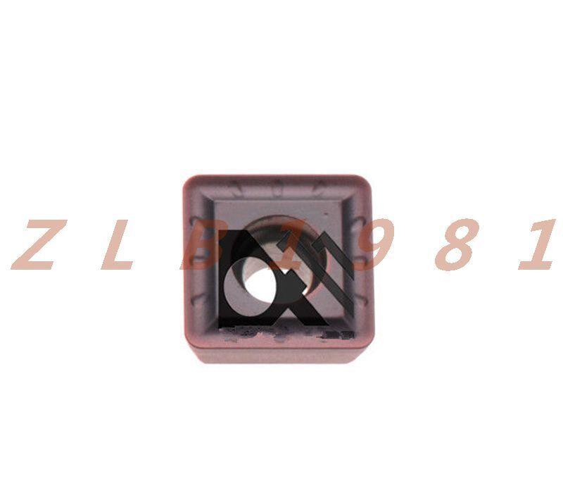 10PCS NEW- ZCCCT CNC Blade SPGT060204-PM YBG205