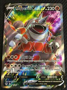 Ultra Rare Rhyperior V 181//189 Holo Full Art Pokemon Card Near Mint