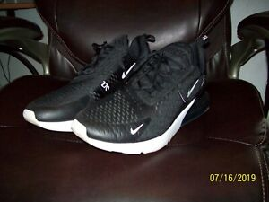 Nike Air Max 270 White Black Anthracite Sports Shoes AH8050
