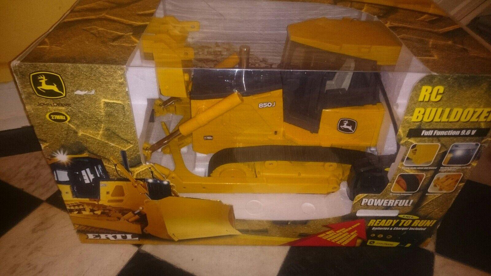 marca RC modellbau John John John Deere excavadora 850j bulldozer de ertl (nuevo & en embalaje original)  clásico atemporal