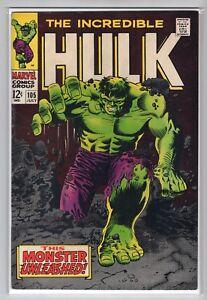 Incredible-Hulk-Issue-105-Marvel-Comics-July-1968-VF