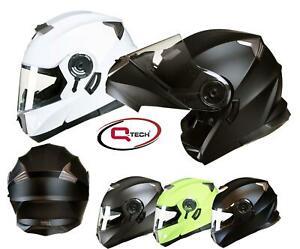 MODULAR-Flip-up-Front-Helmet-DOUBLE-Visor-MOTORCYCLE-Motorbike-Colour-CHOICE