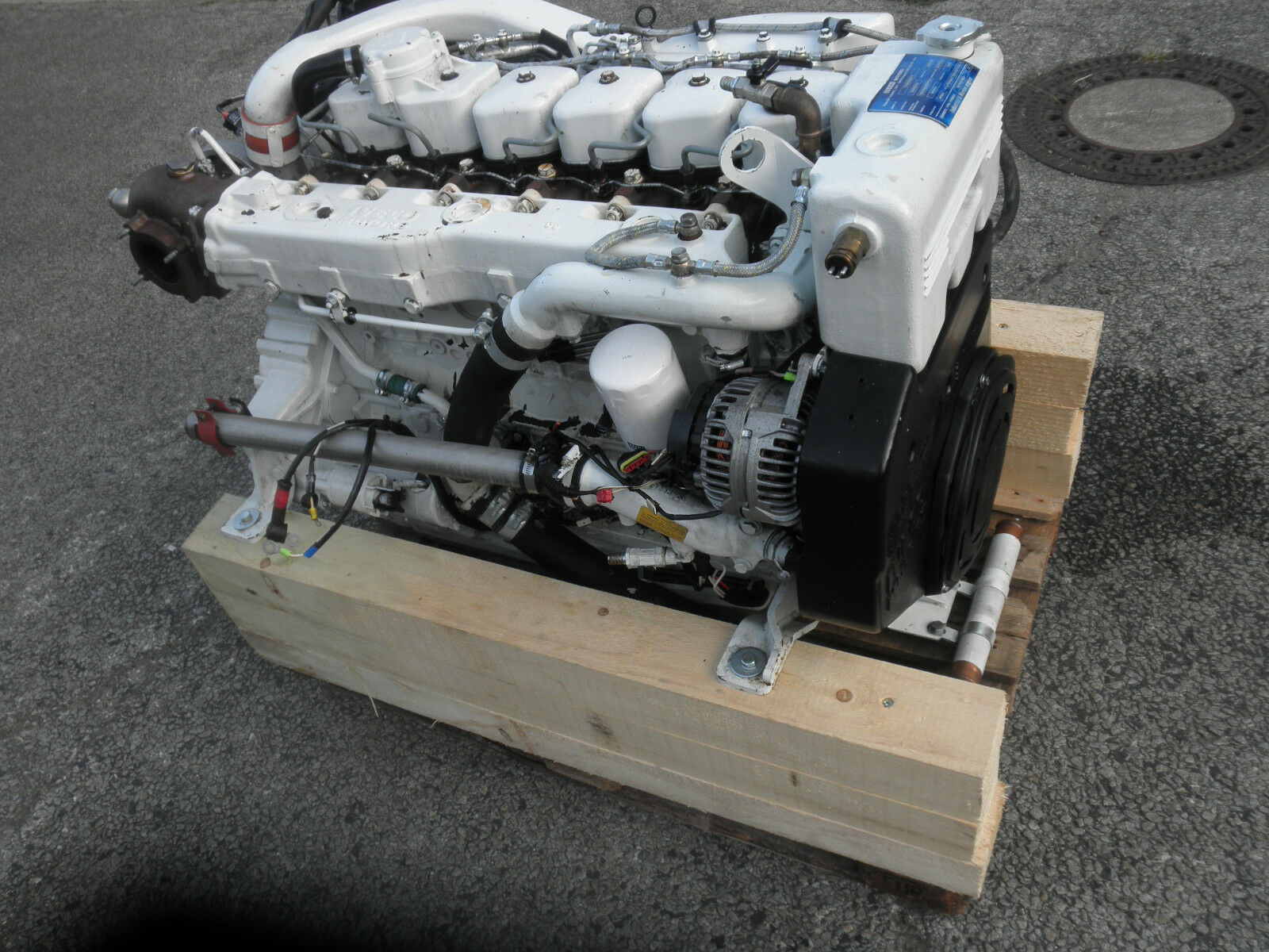 Industrieal &  Marine Engine Iveco Schiffsdieselmotor N60 Schiffsdieselmotor Iveco PFT 665db9