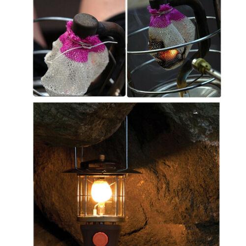 Wholesale 50PCS Outdoor Camping Gas Lamp Lantern Mantles Pressure Lantern Mantle